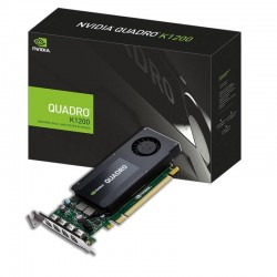 Quadro K1200 Display port - 4Go/4x mDP/4x adapt DP