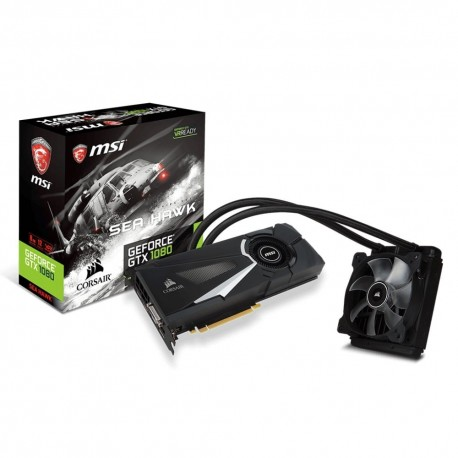 GTX 1080 SEA HAWK X - GTX1080/8G/DVI/DP/HDMI