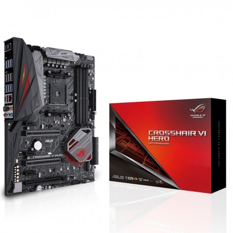 ROG CROSSHAIR VI HERO - X370/AM4/DDR4/ATX