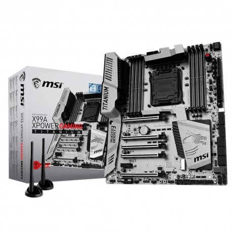 X99A Xpower Gaming Titanium - 2011v3/DDR4/WiFi/ATX