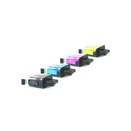 PACK de 5 Brother LC900  (2x Noir, Cyan, Magenta, Jaune)