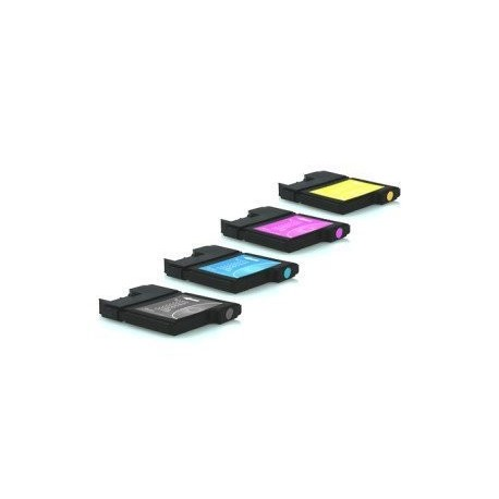 PACK de 5 Brother LC980 2x Noir, Cyan, Magenta, Jaune)