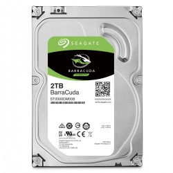 "DISQUE DUR INTERNE 3.5"" SEAGATE 2TO 7200TR SERIAL ATA III 256MO"