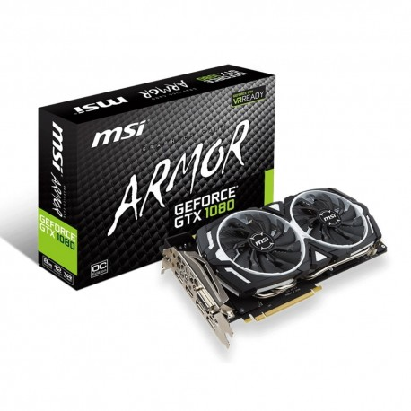 Carte Graphique MSI GeForce GTX 1080 ARMOR 8G OC