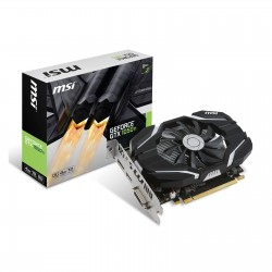 Carte Graphique MSI GeForce GTX 1050Ti 4G OC